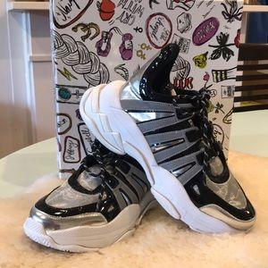 Jeffery Campbell WiFi sneakers, size 9.